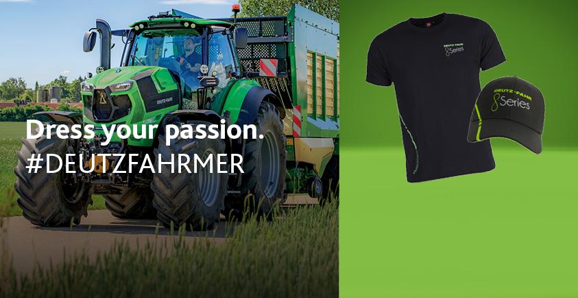 KIESENBERG® Geschenk Motiv Traktor Trecker Deutz Fahr D 177 Uhr 2679